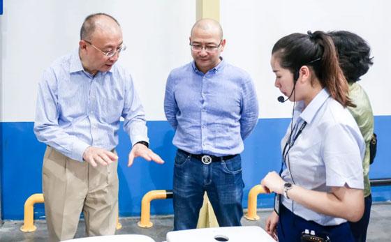 参观亚博app5G工厂